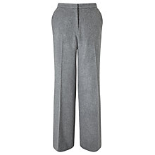 Buy Bruce by Bruce Oldfield 73 NYC Flannel Trousers, Light Grey Online at johnlewis.com