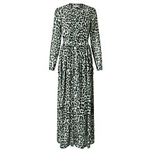 Buy Somerset by Alice Temperley Animal Print Maxi Dress, Grey Online at johnlewis.com