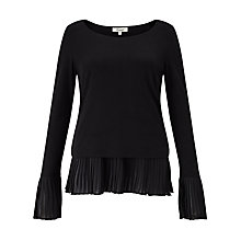 Buy Somerset by Alice Temperley Pleat Hem Jersey Top Online at johnlewis.com