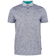 Buy Ted Baker Varilo Floral Cotton Polo Shirt Online at johnlewis.com