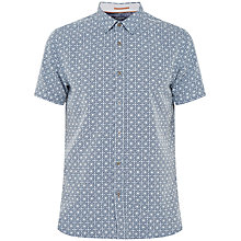Buy Ted Baker Bandaid Geo Print Shirt Online at johnlewis.com