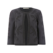 Buy White Stuff Rosewood Jacket, Mono Grey Online at johnlewis.com