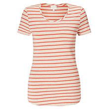 Buy East Stripe Basic T-Shirt Online at johnlewis.com
