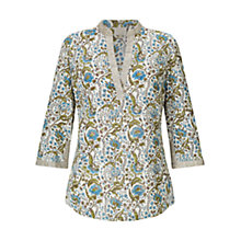 Buy East Paravani Blouse, Stone Online at johnlewis.com