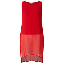 Buy Phase Eight Clara Tabard Tunic Dress, Carmen Red Online at johnlewis.com