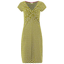 Buy White Stuff Stripe Go Crazy Jersey Dress, Pickle Green Online at johnlewis.com