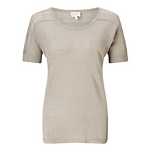 Buy East Pointelle Detail Top Online at johnlewis.com