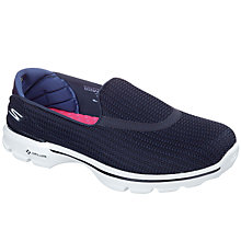 Buy Skechers Go Walk 3 FitKnit Trainers Online at johnlewis.com