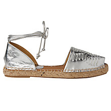 Buy Whistles Syon Two Part Espadrilles Online at johnlewis.com