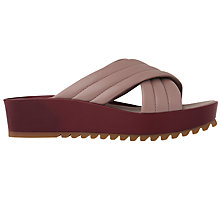 Buy Whistles Roe Flatform Sandals Online at johnlewis.com