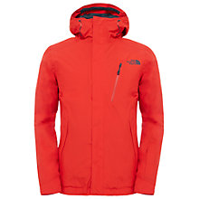 Buy The North Face Descendit Waterproof Men's Jacket, Fiery Red Online at johnlewis.com