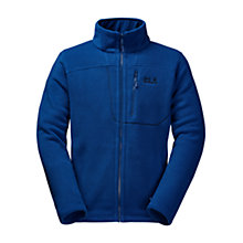 Buy Jack Wolfskin Vertigo Men's Fleece Jacket, Blue Online at johnlewis.com
