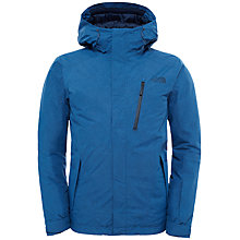 Buy The North Face Descendit Print Waterproof Men's Jacket, Shady Blue Online at johnlewis.com