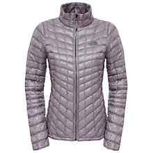 Buy The North Face Thermoball Women's Insulated Jacket, Grey Online at johnlewis.com