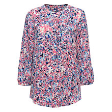 Buy NYDJ Ornamental Etching Print Blouse, Multi Online at johnlewis.com