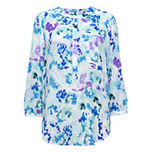 Buy NYDJ Waterfront Lilies Print Blouse, Multi Online at johnlewis.com