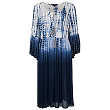 Buy French Connection Holiday Wave Dress, Indigo Online at johnlewis.com