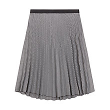 Buy Gerard Darel Caram Skirt, Black Online at johnlewis.com