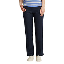 Buy East Linen Pocket Jeans, Navy Online at johnlewis.com