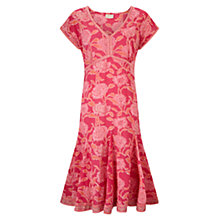 Buy East Chandhi Print Dress, Pink Online at johnlewis.com