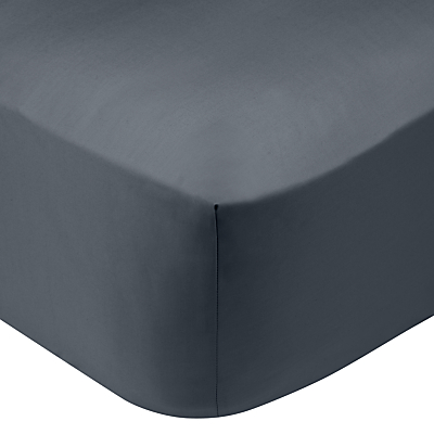 John Lewis 200 Thread Count Polycotton Standard Fitted Sheet