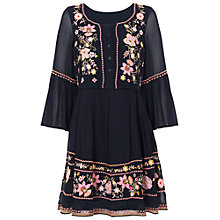Buy French Connection Sunshine Bloom Gypsy Dress, Utility Blue Online at johnlewis.com