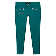 Buy Mango Skinny Zip Trousers Online at johnlewis.com