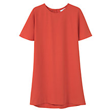 Buy Mango Shift Dress, Orange Online at johnlewis.com