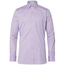 Buy Ted Baker Morrell Shirt, Purple Online at johnlewis.com