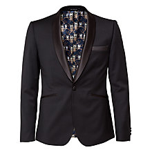Buy Ted Baker Twilitj Tailored Wool Dinner Jacket, Black Online at johnlewis.com