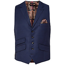 Buy Ted Baker Bobway Tailored Waistcoat, Blue Online at johnlewis.com