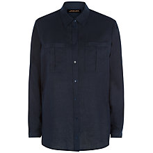 Buy Jaeger Linen Boyfriend Shirt Online at johnlewis.com