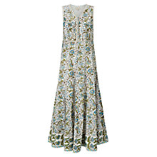 Buy East Paravani Print Dress, Stone Online at johnlewis.com