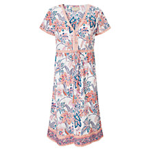 Buy East Tropical Print Dress, Multi Online at johnlewis.com