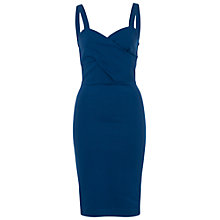Buy French Connection Lula Stretch Strappy Dress, Indian Ocean Online at johnlewis.com