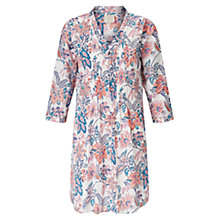 Buy East Tropical Pintuck Tunic, Multi Online at johnlewis.com