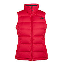 Buy The North Face Nuptse 2 Women's Gilet, Pink Online at johnlewis.com
