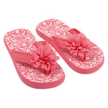 Buy Fat Face Girls' Isla Fish Print Flip Flops, Pink Online at johnlewis.com