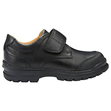 Buy Geox Children's William School Shoes, Black Online at johnlewis.com