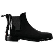 Buy Hunter Original Short Chelsea Wellington Boots, Black Online at johnlewis.com