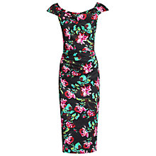 Buy Jolie Moi Retro Floral Print Wiggle Dress Online at johnlewis.com