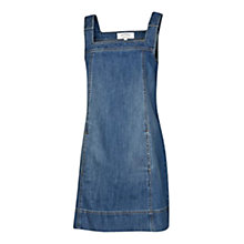 Buy Fat Face Denim Lyla Dress, Blue Online at johnlewis.com