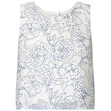 Buy Miss Selfridge Organza Shell Top, Multi Online at johnlewis.com