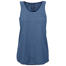 Buy Fat Face Stripe Vest, Indigo Online at johnlewis.com