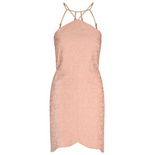 Buy True Decadence Halterneck Bodycon Dress, Light Dusty Pink Online at johnlewis.com