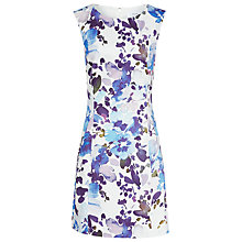 Buy Reiss Juna Printed Dress, Multi/Blue Online at johnlewis.com