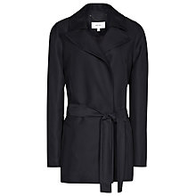 Buy Reiss Lima Belted Jacket, Night Navy Online at johnlewis.com