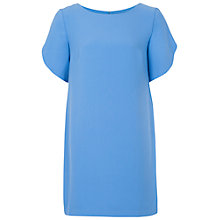 Buy French Connection Arrow Crepe Tunic Dress, Vista Blue Online at johnlewis.com