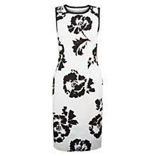 Buy Hobbs Salvador Dress, Ivory/Black Online at johnlewis.com