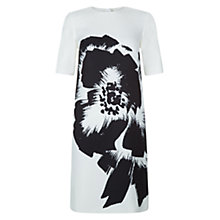 Buy Hobbs Belize Dress, Ivory/Black Online at johnlewis.com